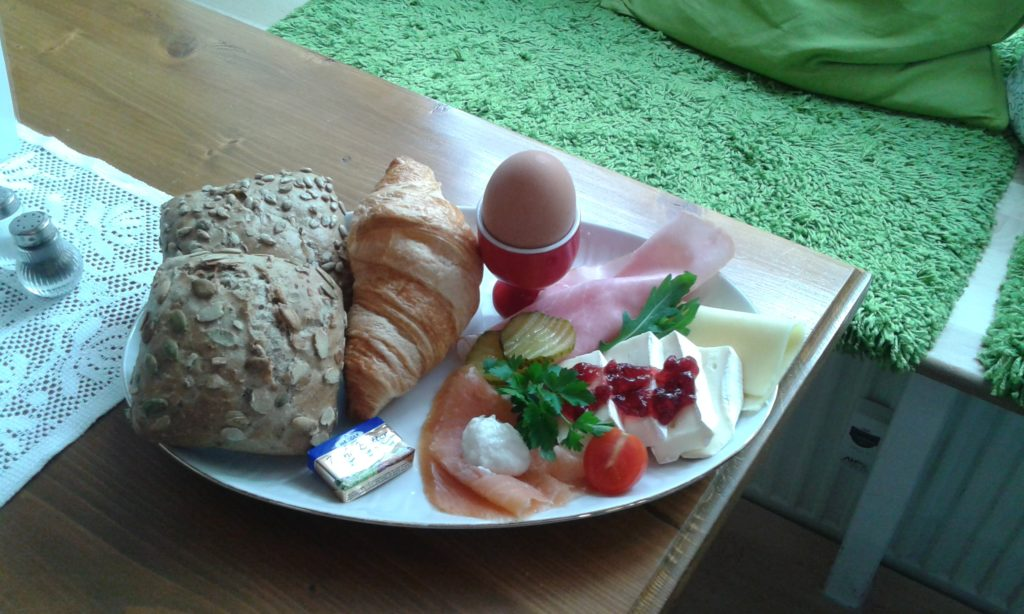 Lecker frühstücken!